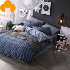 Duvet 100 Cotton Aliexpress Com Buy 2017 Mecerock 100 Cotton Bedding Sets Nordic