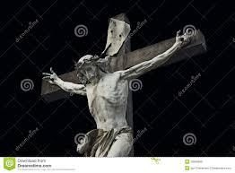jesus christ cross easter resurrection background concept stock