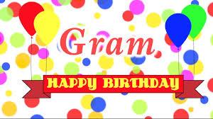 send a birthday gram happy birthday gram song
