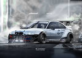 bmw rally car car yasiddesign render artwork bmw bmw m3 e46 bmw e46 race