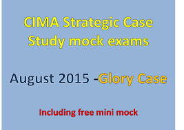 cima mock exams july 2015