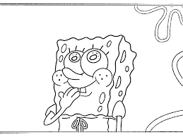 spongebob coloring pages games funycoloring
