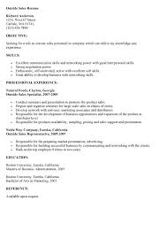 Sample Outside Sales Resume by 11 Best Images Of Outside Letter Format Sales Representative