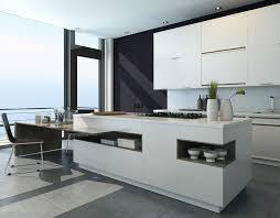 Modern Kitchen Island Design Kitchen Design Modern White Kitchen Island With Attached Dining
