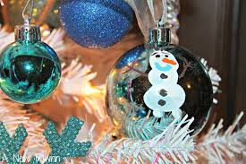 disney frozen tree make your own olaf inspired