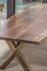 custom black walnut dining table rocawoodworks ontariowood