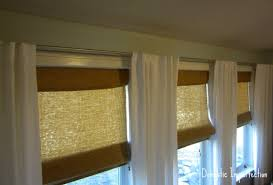 Window Curtains Rods How To Make Your Own Curtain Rods On The Cheap Domestic Imperfection