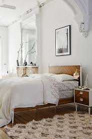 Anthropologie Bed Skirt Lattice Flokati Rug Anthropologie