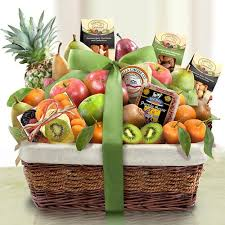 fruit and nut baskets tropical paradise nuts fruit and cheese basket florida baskets