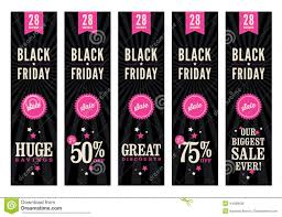 black friday banner black friday sale web banners stock vector image 44399638