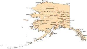 map of alaska cities map of alaska