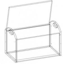 Plans For A Simple Toy Box by Best 25 Toy Box Plans Ideas On Pinterest Diy Toy Box Toy Chest