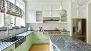 white kitchen cabinets with slate countertops 14 soapstone countertops to inspire your kitchen design
