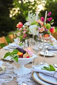 Bright Color Setting Summer Tablescapes