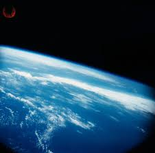 first pictures of earth from 100 miles in space 1947 nasa