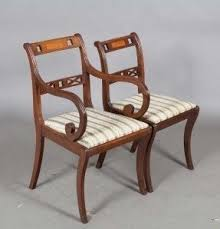 Antique Regency Dining Chairs Reupholstering Chairs Foter