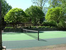 should i resurface my tennis court with flex court tiles neave