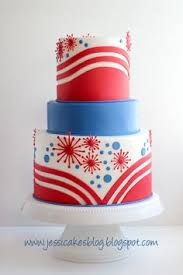 red white u0026 blue july 4th cake celebration cakes cake red
