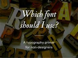 which typeface should i use