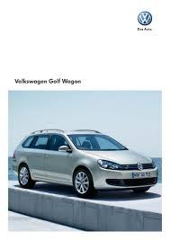 volkswagen golf wagon golf wagon brochure volkswagen australia