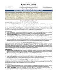 cover letter sample senior executive resume sample senior