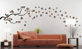 trend photos of modern homes interior decoration wall painting