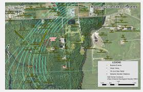 Sinkhole Map Of Florida by Elevated Levels Of Radioactive Elements Found At Louisiana