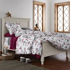 winter duvet covers ideas homesfeed floral bed theme for winter with awesome duvet cover with grey and red color