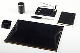 parure de bureau maruse parure de bureau en cuir 100 made in italy amazon fr