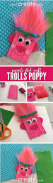 trolls poppy popsicle stick craft for kids popsicle stick crafts