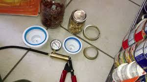 preppers how to vacuuseal jars without electricity food storage