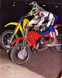 kenny motocross gear bob hannah 6 and kenny keylon 23 bombing through the whoops in