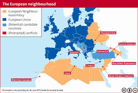 Map Of The European Union by This Image Is A Map Of The European Neighborhood Policy This Is