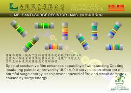 1m resistor color code related keywords suggestions thin film