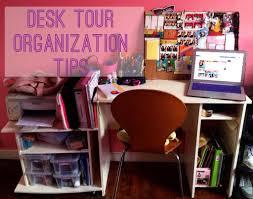 Back To School Desk Organization Back To School Desk Tour Organization Tips 2013