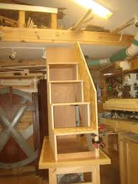 Plans For Making Loft Beds by X Men Bunk Bed 6 Building The Stairs And Installation By