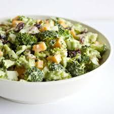 bacon cheddar broccoli salad homemade food junkie