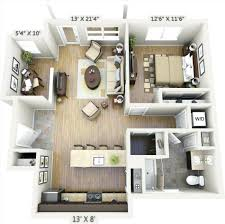 One Bedroom Apartment Plans And Designs 20 One Bedroom Apartment Plans For Singles And Couples Home 20