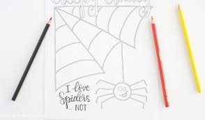 halloween coloring free printable liz
