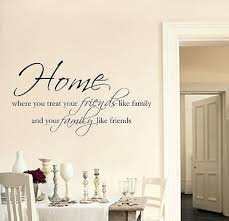 living room wall stickers home friends family wall art sticker quote living room hallway