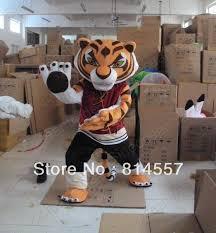 Tigress Halloween Costume Tigress Tiger Kung Fu Panda Friend Mascot Costume Halloween Gift