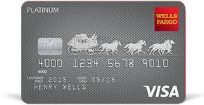 platinum visa card fargo
