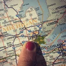 Holly Michigan Map by Detroit Michigan U2014 Holly Andres