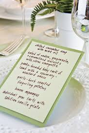 Table Place Cards by Table Place Setting Ideas Southern Living