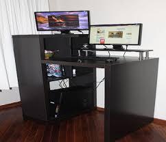 Modern Black Computer Desk Modern Computer Desk Ikea Black Stand Up Computer Desk Ikea