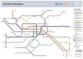 Where I Ve Been Map Submission Fantasy Future Map Glasgow Transit Maps
