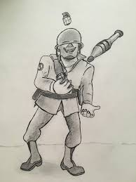 happy independence day maggots soldier sketch i did for the 4th