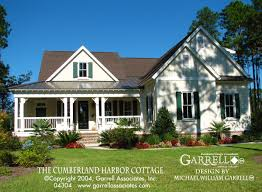 floor plans southern living house plan cumberland harbor cottage plans by garrell front
