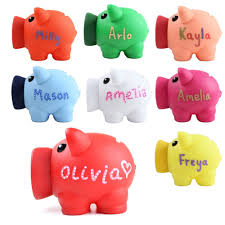 personalised piggy bank personalised piggy bank money box coins children saving gift any