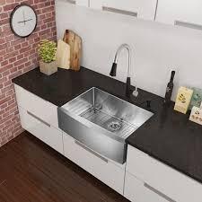 Farmhouse Kitchen Faucet by Kitchen Faucets Farmhouse Faucet Kitchen With Concrete Farm Sink